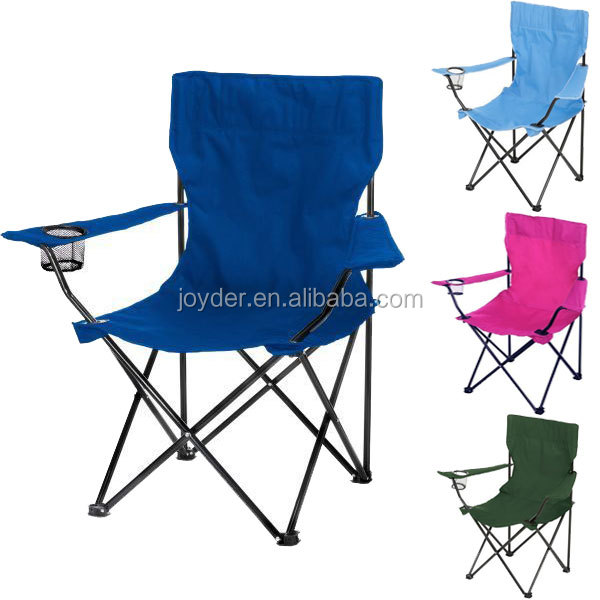 OEM Adult folding camping chair with cup holder