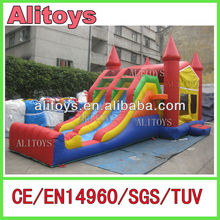 inflatable bouncer with slide,inflatable slide bouncer,inflatable mini combo jumper