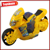 Plastic kids pull line motorcycle toy