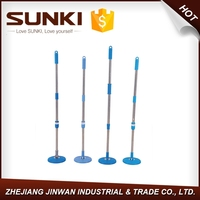 extension pole mop pole,360 spin mop head, magic spin mop handle