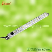 Waterproof SMD5050 LED Rigid Strip Light Aluminum LED Bar Lamp Cold White/Warm White