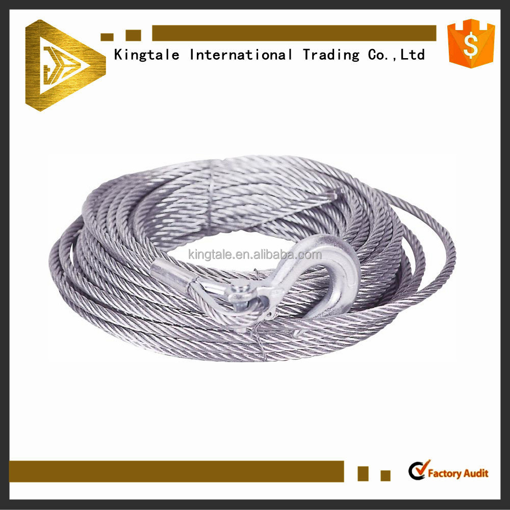 Steel wire rope 7x19 stainless steel wire rope sling