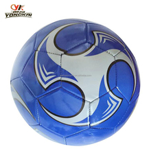 wholesale fast delivery Six colors mixed pvc material stock rubber bladder stock soccer ball football