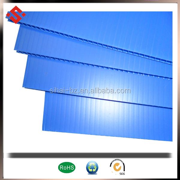 blue correx plastic board