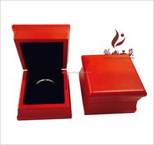 Brand Colourful Wholesale Piano Red Wooden Jewelry Box