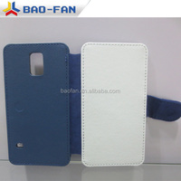 professional phone case supplier blank sublimation custom leather mobile phone case for Samsung S5