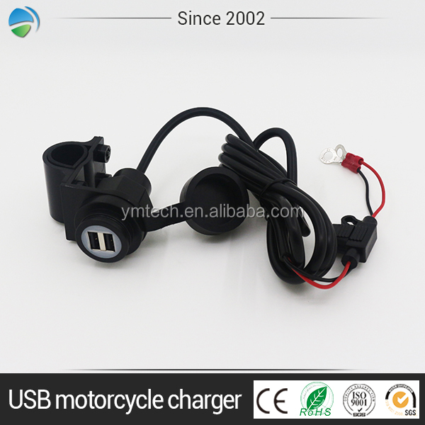 Fast vehicle cell phone autobike and mobile accessories motorcycle charger
