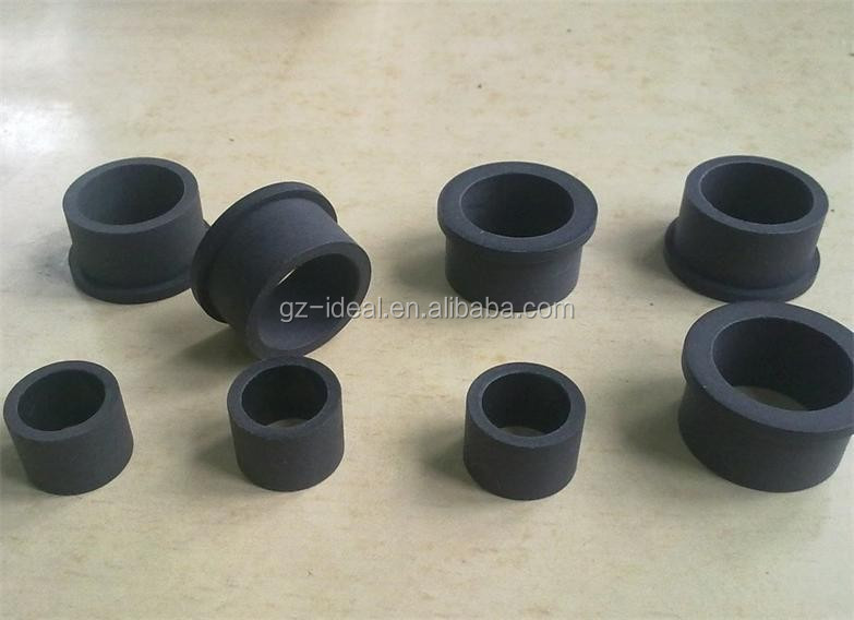 PTFE Teflon Sleeve Bushes Black