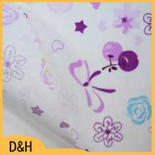 popular wholesale customized design fabric bedding for bedsheet