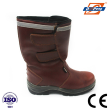 high neck winter safety boots for women in oil industry