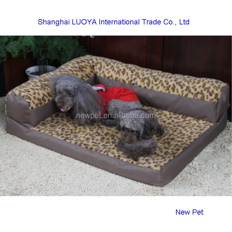 Various styles hot-sale pet bed dog sofa dog house with balcony