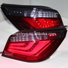 For BMW E60 5 Series 520i 523i 525i 528i 530i LED Tail Lamp Rear Lights 2003 to 2009 year Red Black Color JX