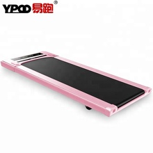 YPOO New treadmill machine mini walker gym treadmill automatic walking machine pink treadmill