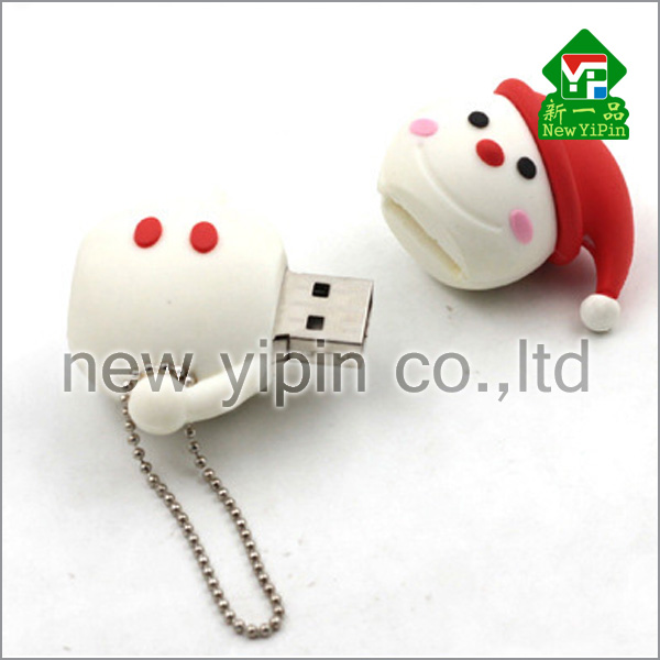Cheap Prices Flash Soft PVC Custom USB Gifts Bulk 1gb USB Flash Drives with Chain