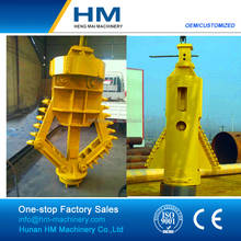 Rock Drilling Belling Bucket with Roller Bits