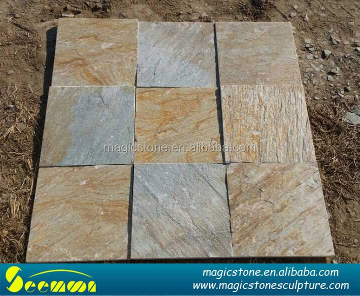 rusty natural slate paving stone flagstone