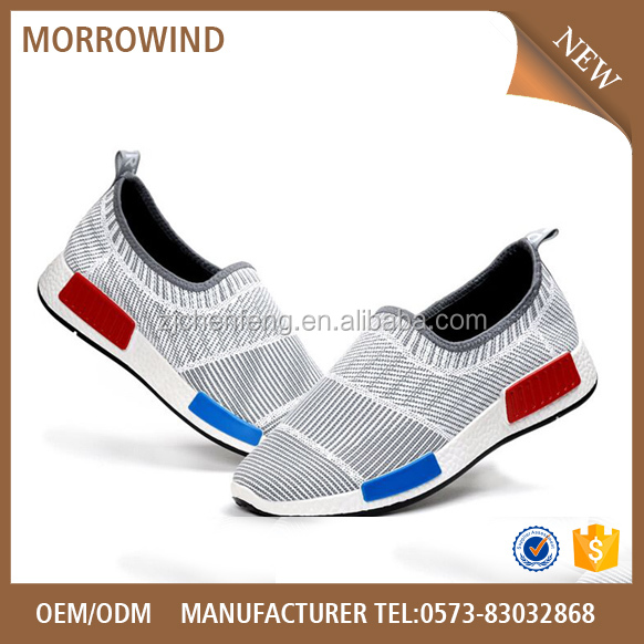 Brand Quality fashion custom running sport shoes new style flyknit shoe For Men
