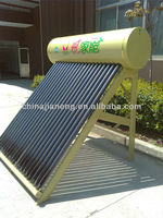 galvanized steel outer tank non pressure stainless steel solar heater water