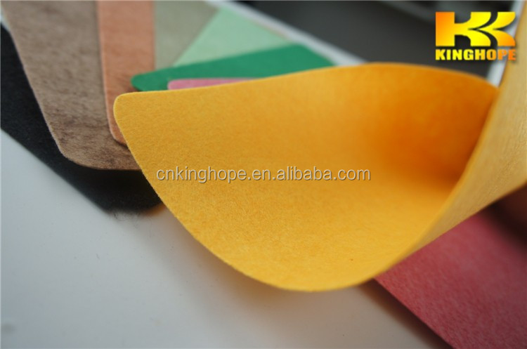 Grey Nonwoven felt fabric Needle punched felt nonwoven fabric