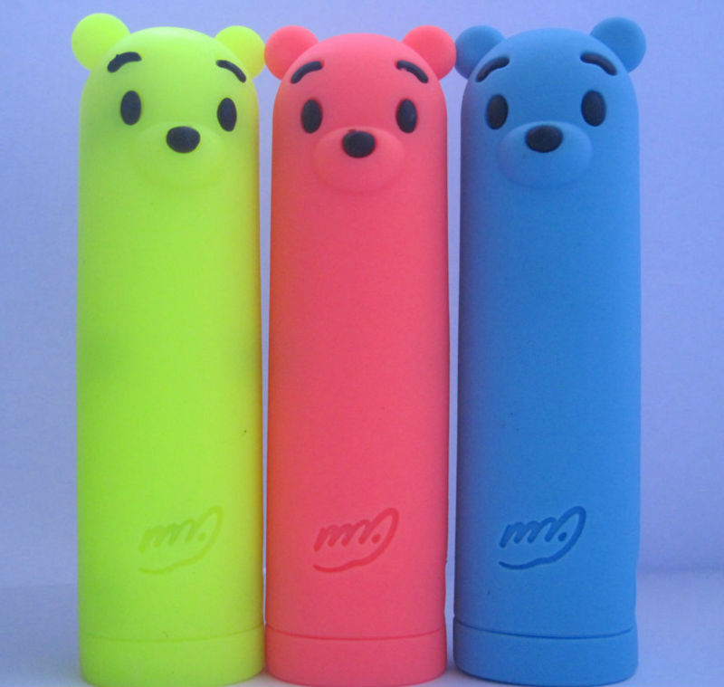 Hot sale usb mobile power 2600mah,color can be customized