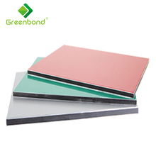 Greenbond 10mm aluminum composite board interior decorative Aluminum Composite Panels