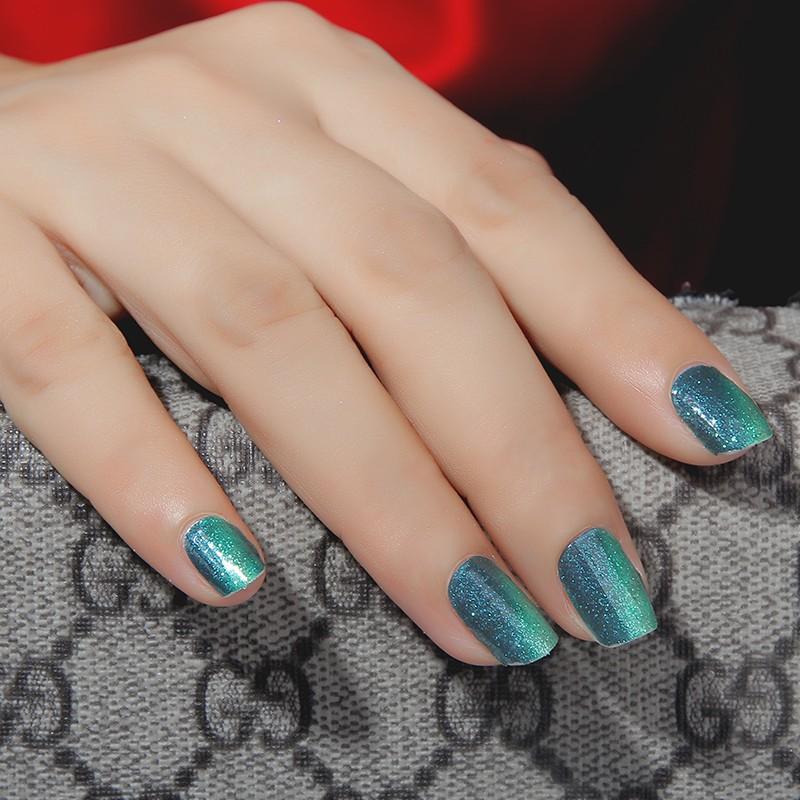 Non-toxic Nail Polish strips korea trendy nail stickers
