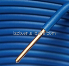 TW/THW PVC 7 stranded copper wire cable 8/10/12/14 AWG 600V THW TW Copper building electrical wire