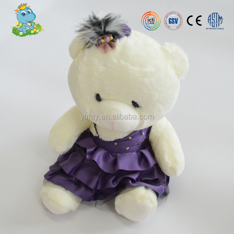 ICTI custom Soft stuffed plush latex teddy wholesale Soft Teddies