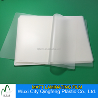 75mic A4 Size Plastic Film Matte Finsihed Waterproof Laminating Pouch Film