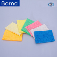 antibacterial kitchen sponges, cleaning kitchen cellulose sponge, deep cleaning housewife used cellulose sponge for dishes