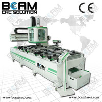 CNC router milling and drilling machine