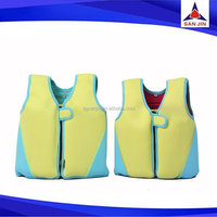 Neoprene life vest for children surfing swimming life jacket for kids