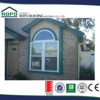 Europe Style Rehau Profile PVC Windows and doors for house
