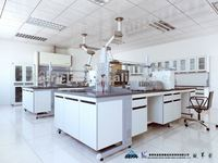 chemistry laboratory full steel( steel wood) Wall bench