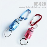 In stock red and blue magnetic net release fly fishing tool