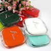 High-class pocket makeup mirror square / fashion pocket compact mirror / beauty makeup handbag mirror