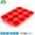 Food grade non stick bakeware 12-cupsilicone muffin pan, silicone cupcake molds