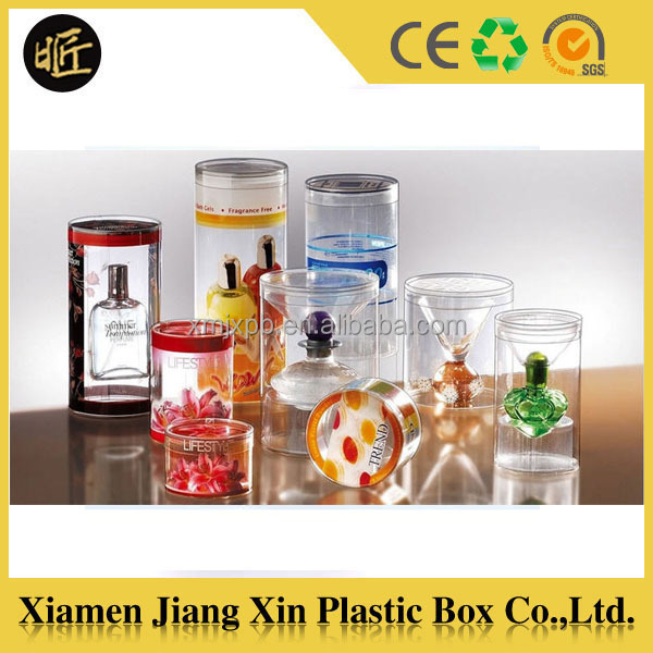 Special clear PET Box for Perfume packaging
