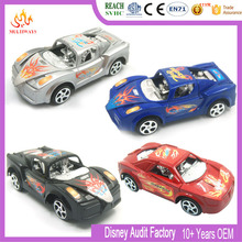 OEM factory custom plastic toy diecast model pullback toy cars for kids