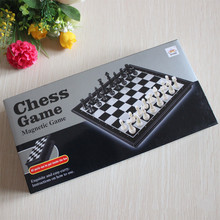 wholesale cheap high quality indoor sports magnetic game chess set