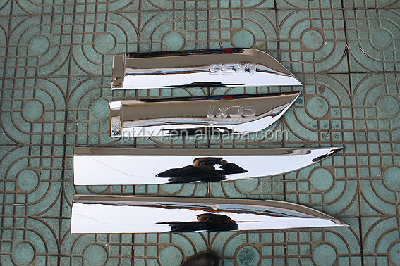 IX35 car Body Decoration strip 2010+ ABS CHROME
