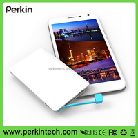 HOT SALE! PP210 2500mah External ultra slim 6.6mm Credit card power bank