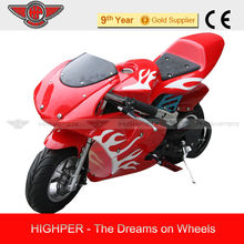 350W Electricvehicle/Pocket Bik Racing motorcycle of one-rider
