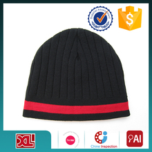 Latest product low price charm beanie knitted acrylic hat with good offer