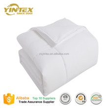 600 Fill Power White Goose Down Comforter Duvet with Insert 300 Thread Count 100% Cotton Fabric