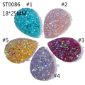 18*25MM Star Resin Rhinestone ,Teardrop Flatback Rhinestone ,Gemstone Cabochon Jewelry Finding