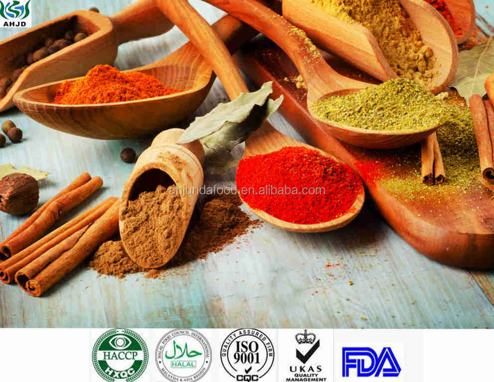 Supply quality seasonings condiments herbs and spices red chili pepper