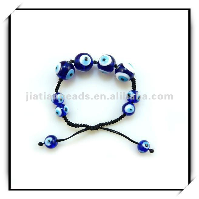 Turkish evil eye glass beads bracelet for protective talisman turkey charms
