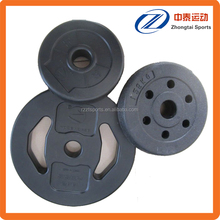 plastic coated cement dumbbell weight plates set price