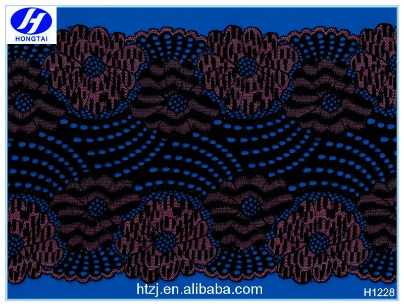 Indian 2016 new design cotton embroidery design Chemical lace fabric